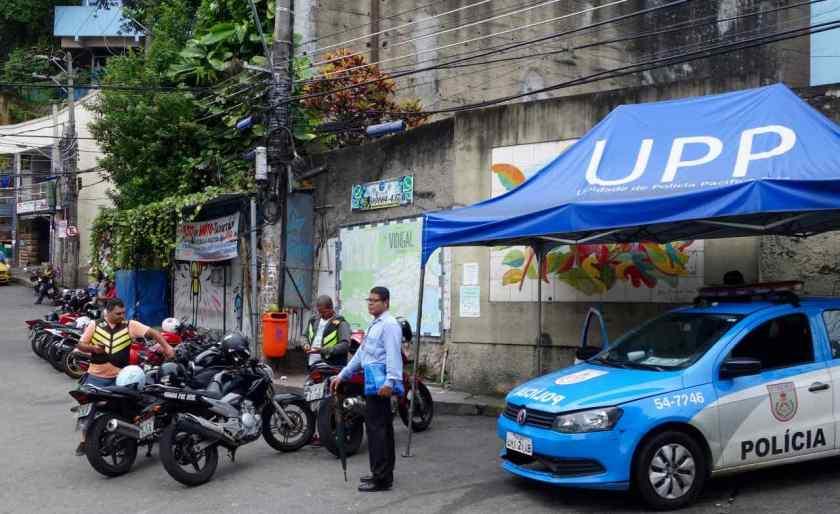 Favela Vidigal Rio de Janeiro, Startplatz der Motos