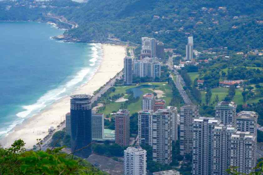 Rio de Janeiro Dois Irmaos - blick auf Sao Conrado 2, groß