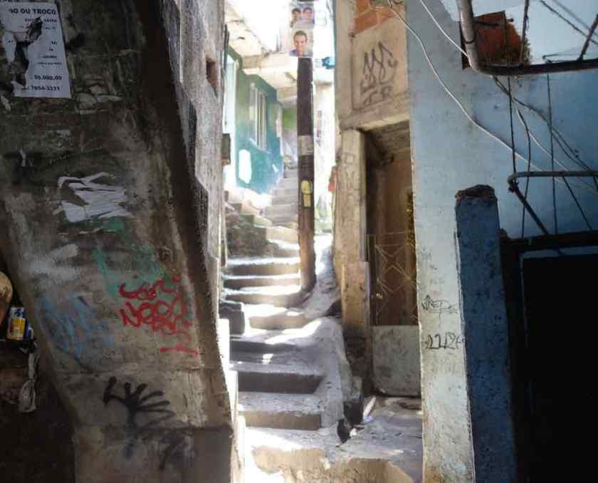 Favela Tour Rocinha, Treppe 3