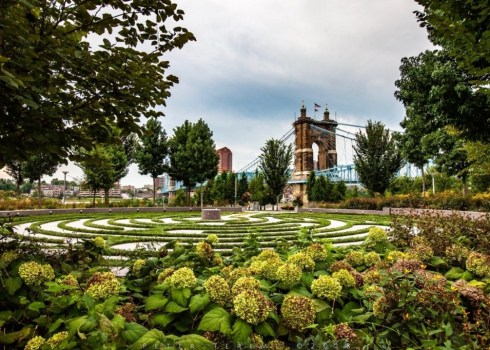 Prayer Labyrinth At Smale Park
