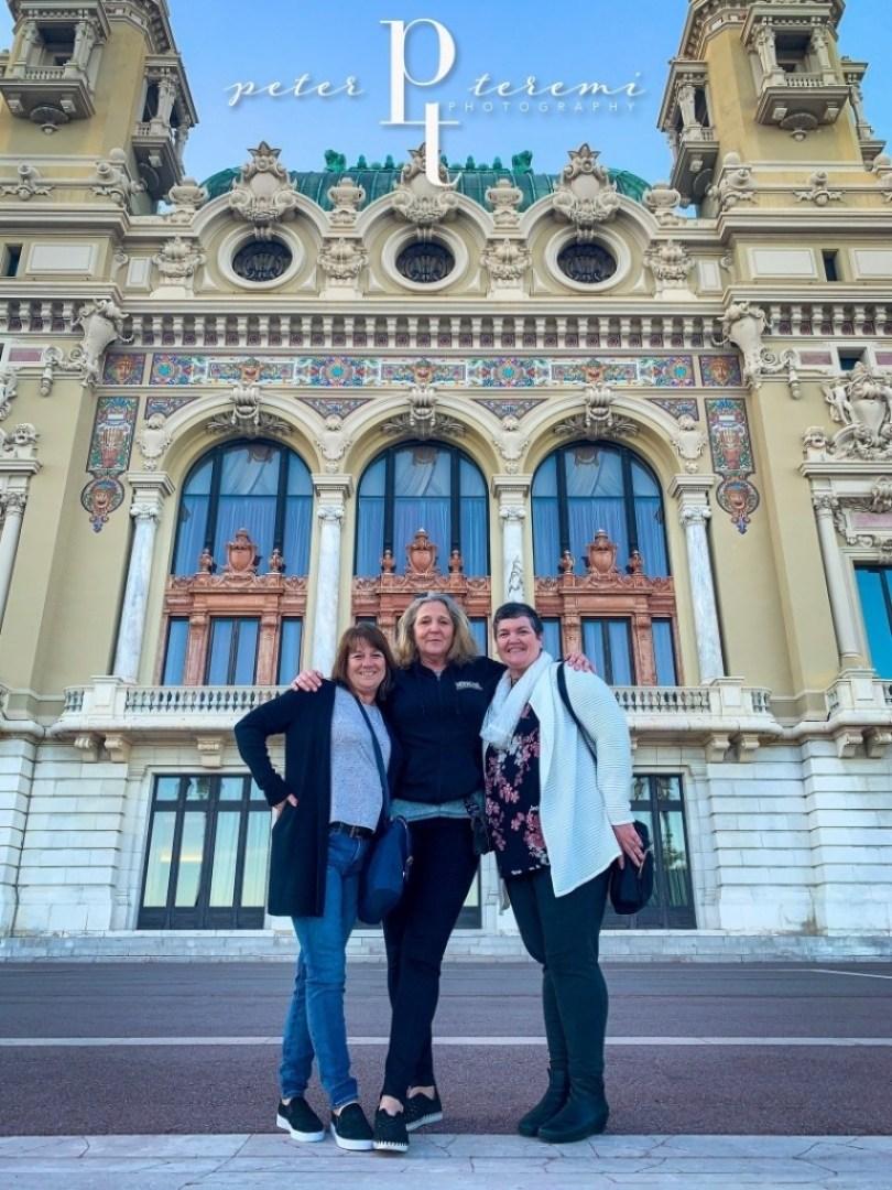 Casino De Monte-Carlo - Exterior with the Girls