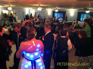 Leanna and Justin's wedding at American Legion in Cicero