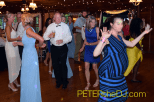 Dancing the night away at Jacky and Stephen's wedding reception at Cazenovia Tennis Club!