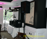 Setup at the Colgate Inn - a great example of how I