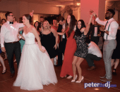 Erica and Grant wedding reception at Genesee Grande Hotel in Syracuse