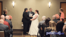 Paula and Sarah's wedding at Embassy Suites by Hilton Syracuse (off Carrier Circle, East Syracuse), February 2018.