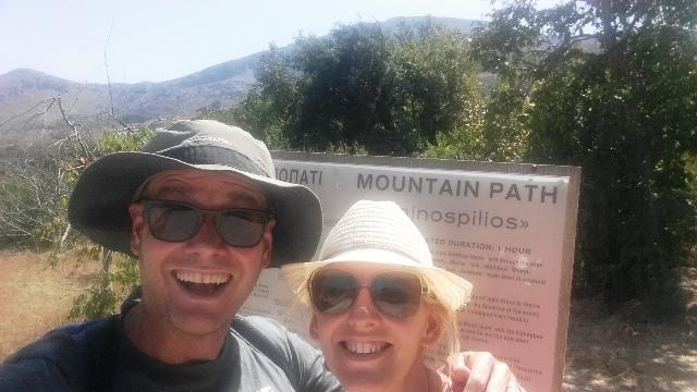 Getting lost in the Cretian mountains! Gerakari, Crete