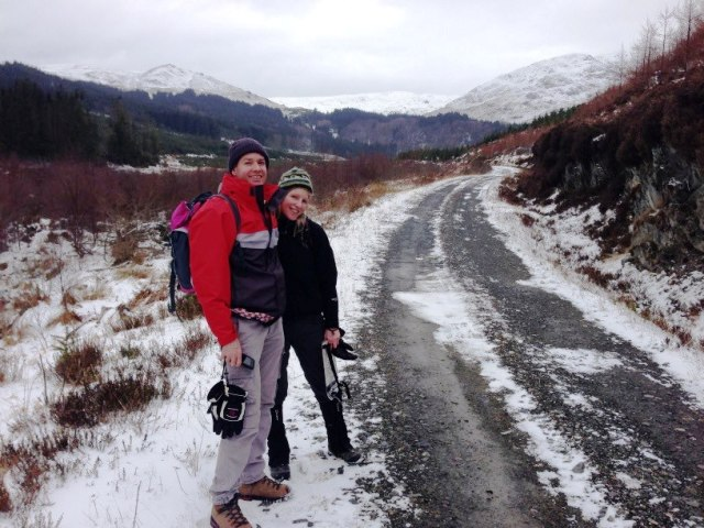 Walking in the Scottish Highlands