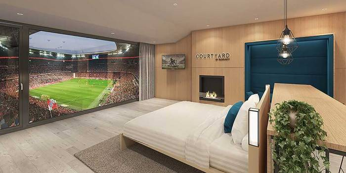 Courtyard by Marriott teams up with FC Bayern