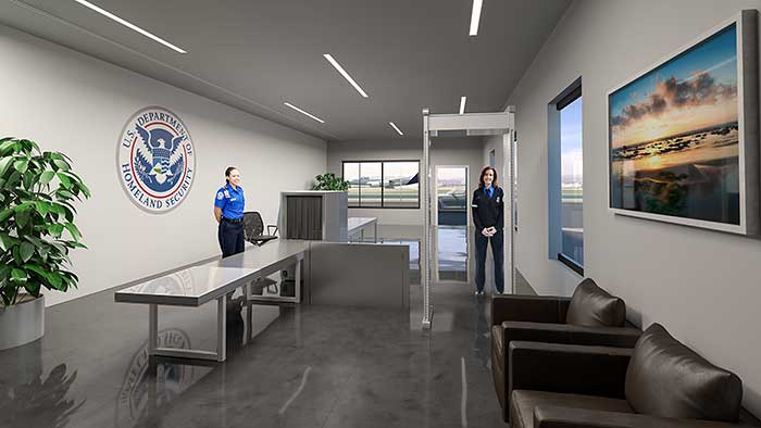 The Private Suite at LA LAX airport