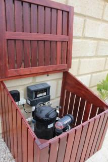 Pool Pump Equipment Enclosure Ideas