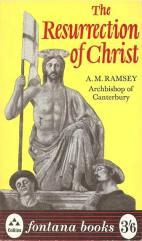 Ramsey - Resurrection of Christ - fourth imp 1966 - blog
