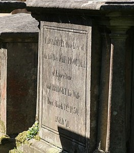 The tomb of a clergyman's daughter. By Alan Murray-Rust, reproduced CC-BY-SA 2.0