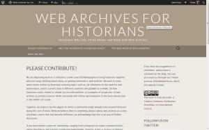 WebArchivesforHistorians