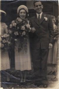 My Parents Wedding June 1948