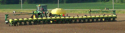 24 row Corn Planter