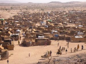 Sudanese Refugee camp in Chad