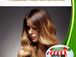 FREEDOM FROM HAIR-CHEWING