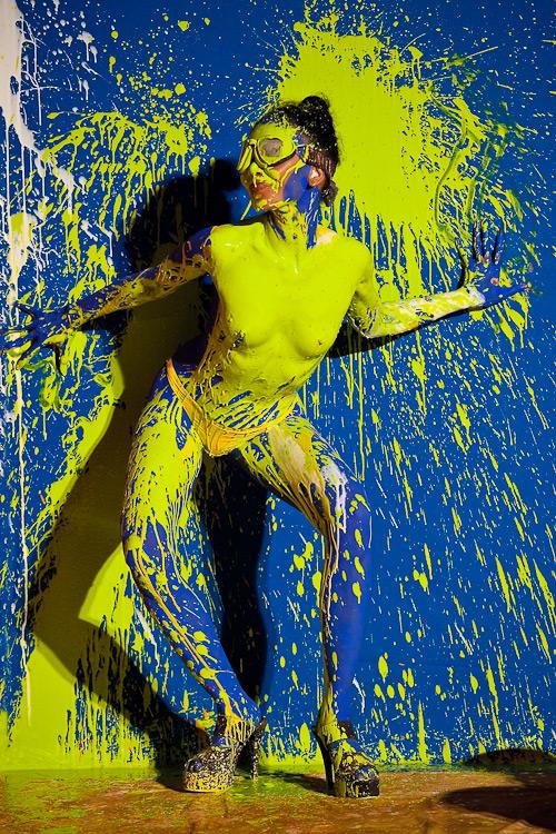 Action Painting  Peter Ziegler Fotografie