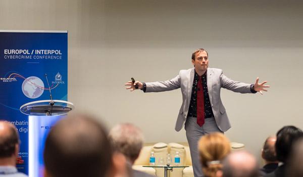 Presenting at Europol