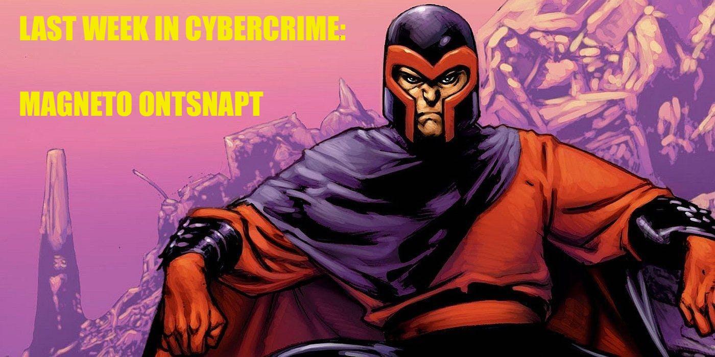 Magneto ontsnapt