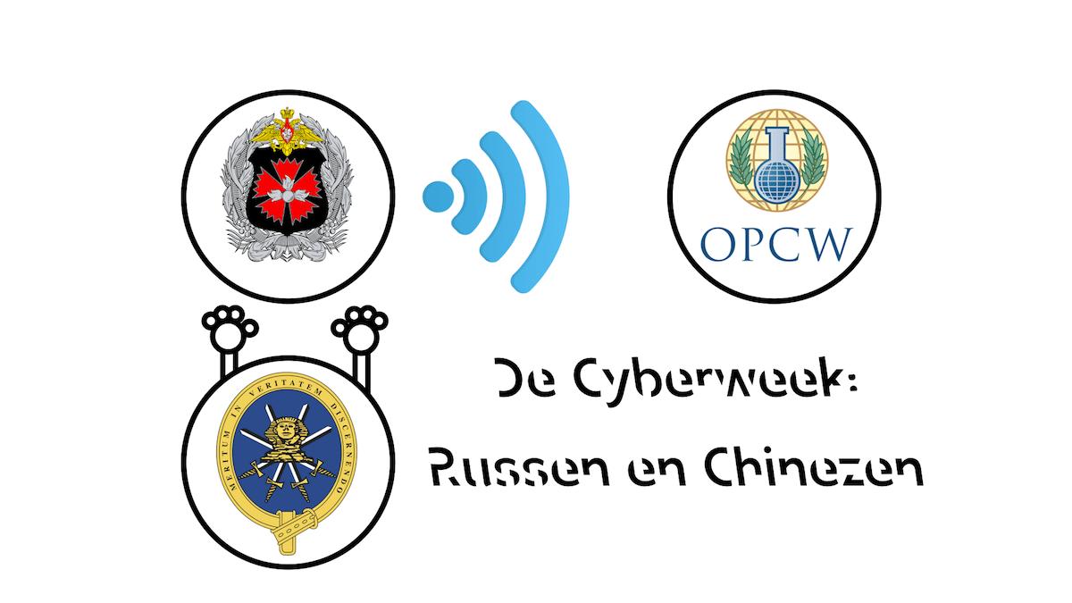 De cyberweek - Russen en Chinezen