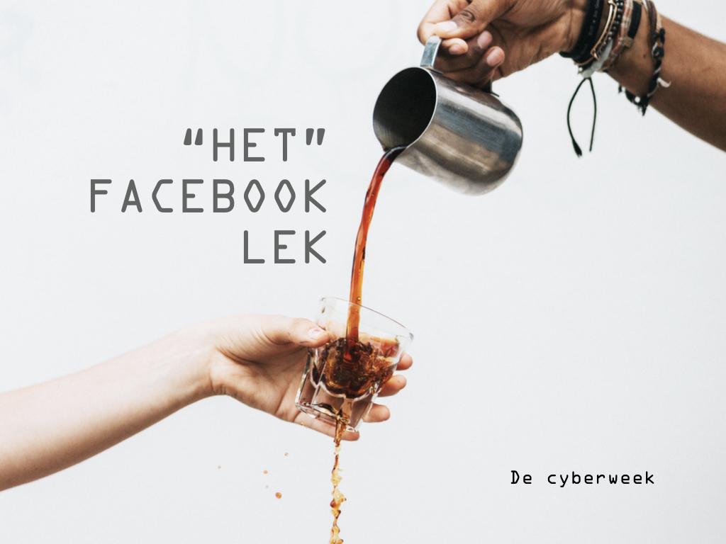 """""""Het"""" Facebook lek"""