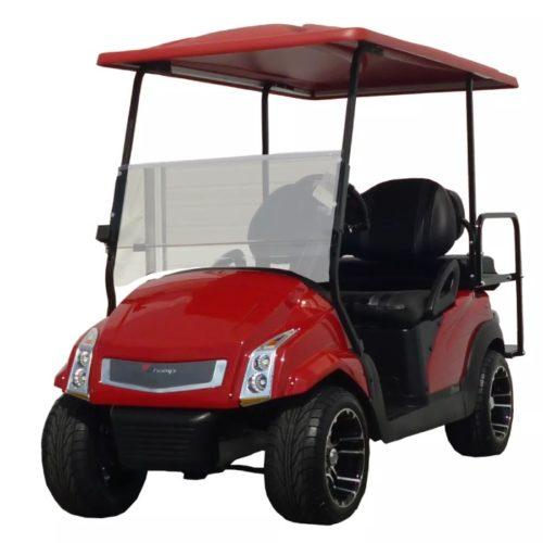 golf cart headlights telescope optics ray diagram new cadillac like style body kit - pete's carts