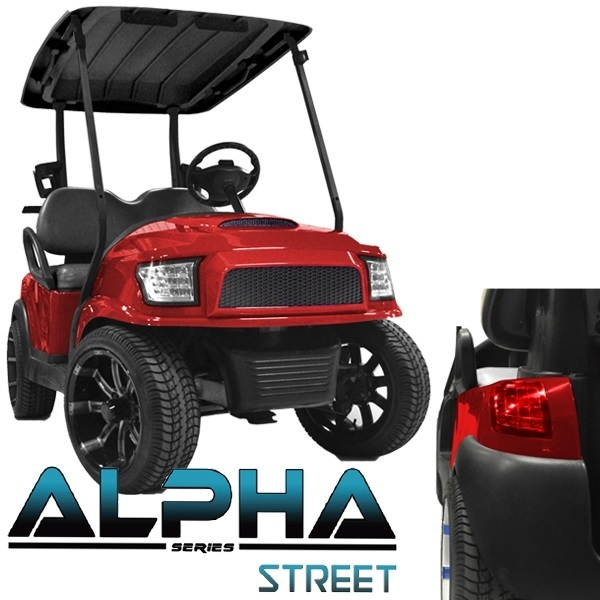 golf cart headlights hard drive diagram body kit ford truck style street series - pete's carts