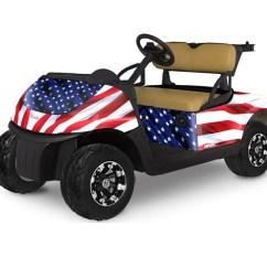 Ez Go Cruzin Cooler Wiring Diagram Golf Cart Graphics Kit Stars N Stripes Club Car Or Ezgo Pete S Rxv 2015 2018
