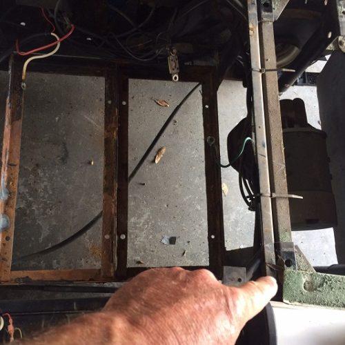 ez go gas wiring diagram xtrons pf81mtv golf cart parts all aluminum replacement ezgo battery tray install torx screws