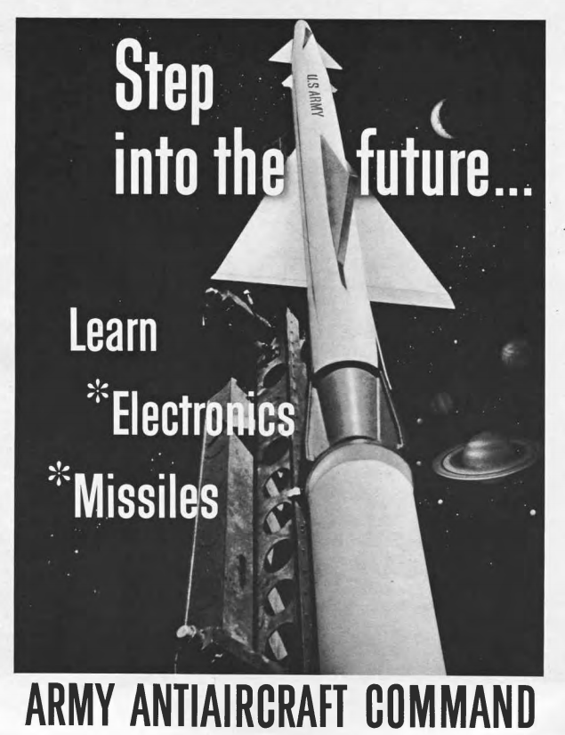 Army Anti-Aircraft Command Recruiting Materials, 1956