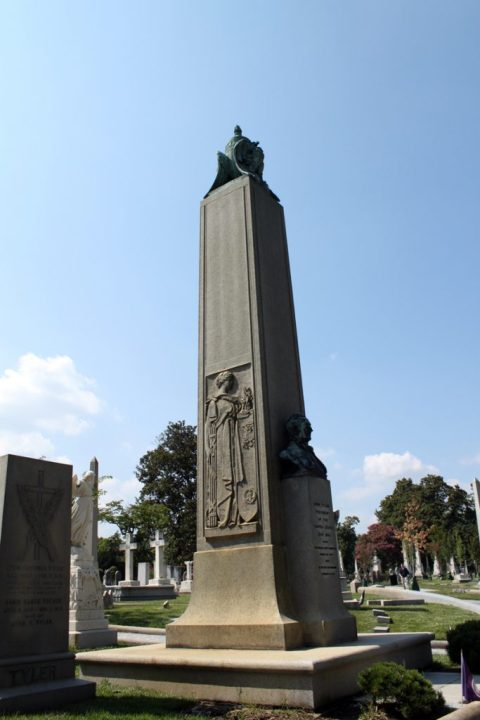 President John Tyler's Monument - <i>Photo by John Dolan</i>