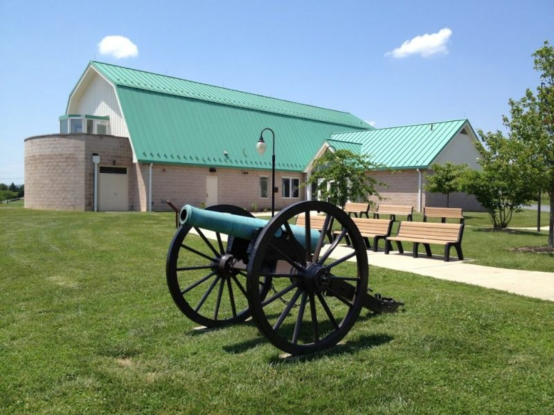A beautiful Revere Copper Co. Napoleon outside of the visitors center. - Photo by the author