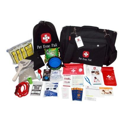 Cat Emergency Survival kit, Earthquake, Hurricane, Fire