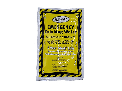 Mayday Emergency Drinking Water Packet