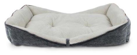 AFP Grey Herringbone Boat Bed