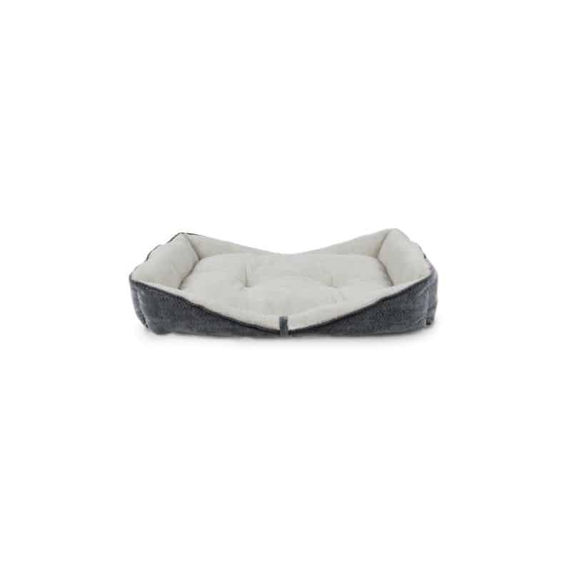 AFP Grey Herringbone Boat Bed - Small