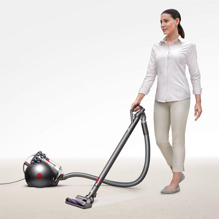 Dyson Cinetic Big Ball Animal Canister Vacuum on Floor