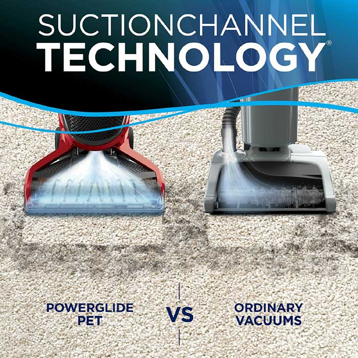 Bissell PowerGlide Pet Vacuum Cleaning Performance