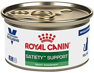 Royal Canin Veterinary Diet Feline Satiety Support Weight Management Morsels in Gravy Canned Cat Food