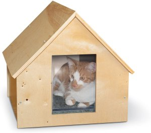K & H Pet Products Birchwood Manor Outdoor Kitty Home