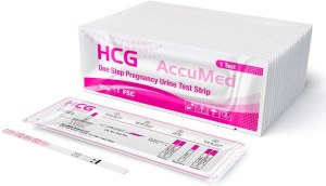 AccuMed Pregnancy Test Strips- early home detection