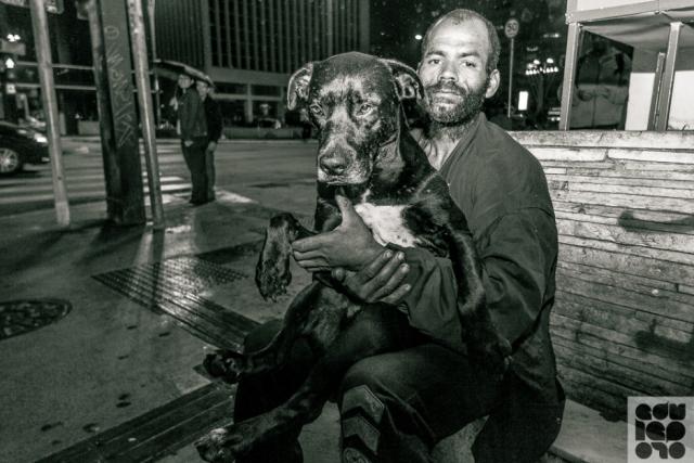 moradores de rua e seus cães 12