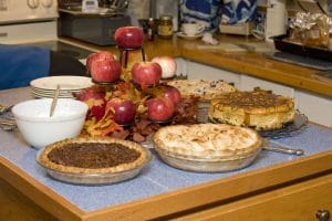 thanksgiving cakes and desserts