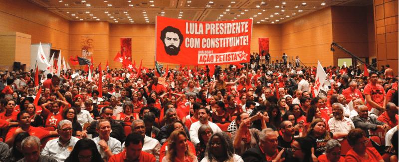 Lançamento de Lula Presidente em Contagem/MG (08/junho)