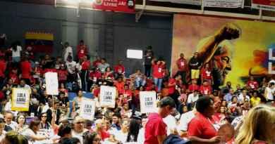 Vista de parte do plenário