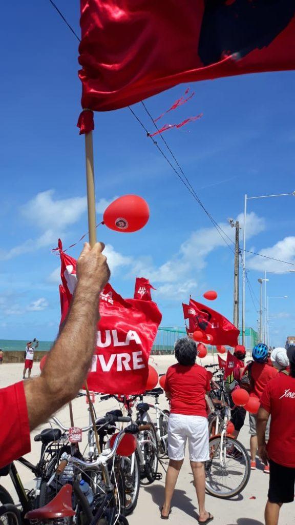 na praia do Recife