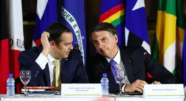 Paulo Camara e Bolsonaro