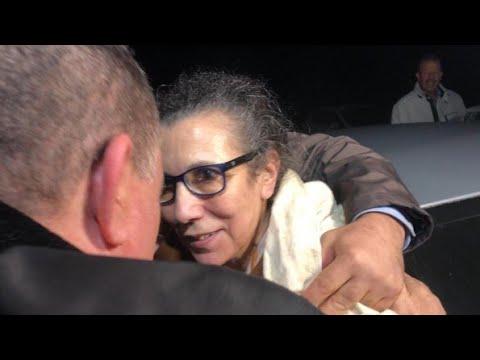 Luisa Hanune libertada